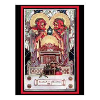 Gloria in Excelsis Deo Postcard
