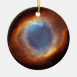 Gloria iridiscente de la nebulosa próxima de la hé