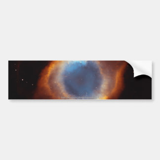 Gloria iridiscente de la nebulosa próxima de la hé pegatina para auto