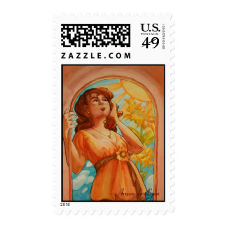Gloria Postage Stamp