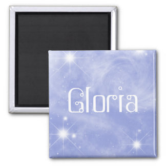 Gloria Starry Magnet