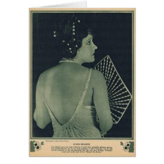 Gloria Swanson 1922 Card