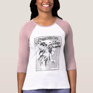 Gloria Swanson Society Scandal movie ad T-Shirt
