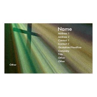 Gloria tarjeta de visita del clero de la llamada c