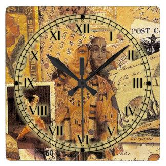 Glorias indias reloj cuadrado