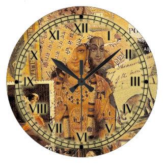 Glorias indias reloj redondo grande