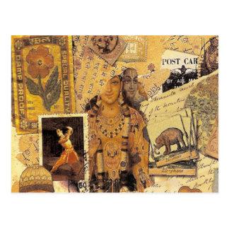 Glorias indias tarjetas postales