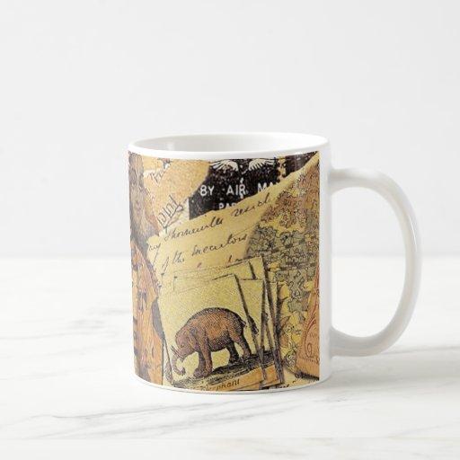 Glorias indias taza de café