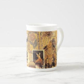 Glorias indias taza de porcelana