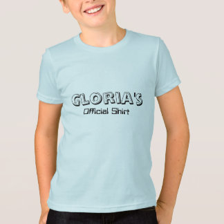 Gloria's, Official Shirt