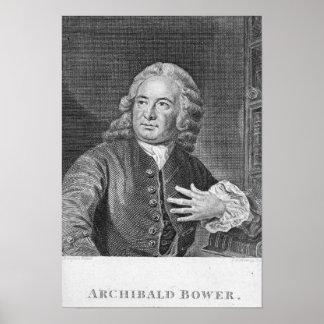 Glorieta de Archibald, grabada por J. Hollonray Posters