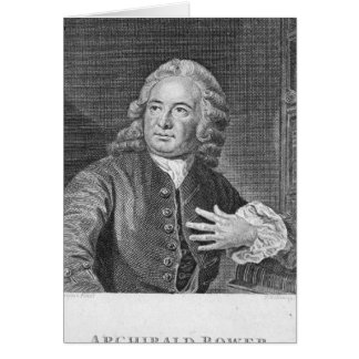 Glorieta de Archibald, grabada por J. Hollonray Tarjeta De Felicitación