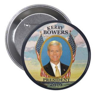 Glorietas de Kerry para el presidente 2016 Chapa Redonda 7 Cm