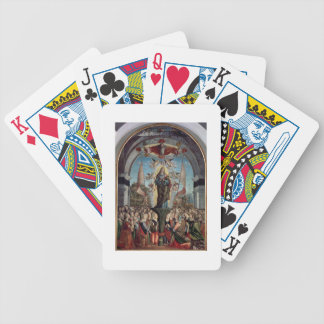 Glorification of St. Ursula and her Companions Bicycle Playing Cards