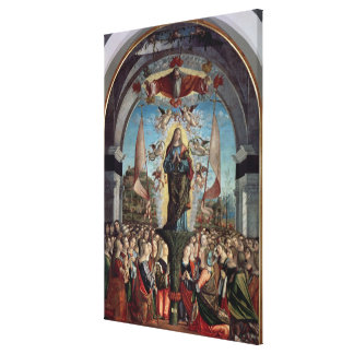 Glorification of St. Ursula and her Companions Canvas Print