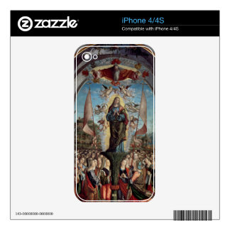 Glorification of St. Ursula and her Companions iPhone 4 Skin