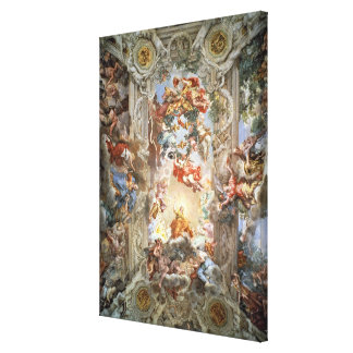 Glorification of the Reign of Pope Urban VIII (156 Canvas Print