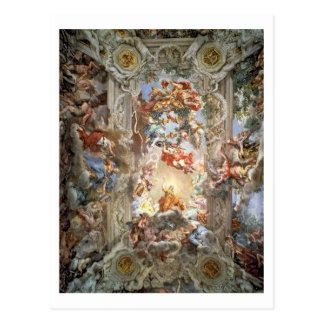 Glorification of the Reign of Pope Urban VIII (156 Postcard
