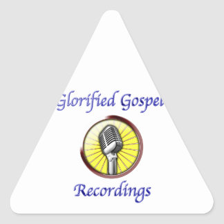 Glorified Gospel Recordings Official Online Store Triangle Sticker