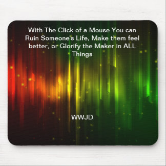 Glorify The Maker Mouse Pad
