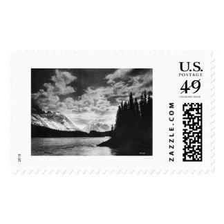 Glorious Alaska Mountains 1920 Postage