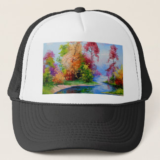 Glorious autumn trucker hat