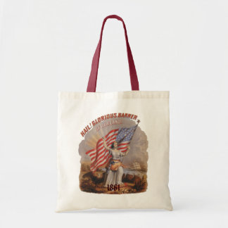 Glorious Banner! - Budget Tote Canvas Bags