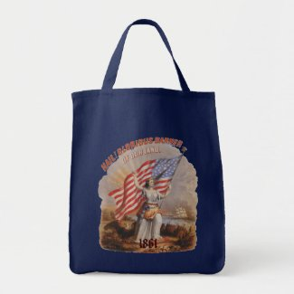 Glorious Banner! - Grocery Tote bag