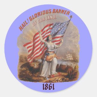 Glorious Banner! - Sticker