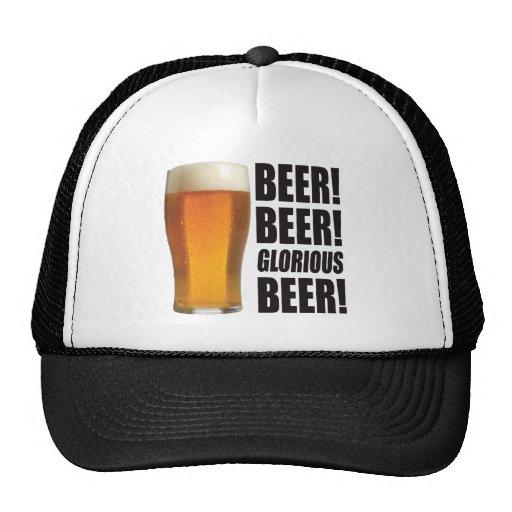 Glorious Beer. Hats