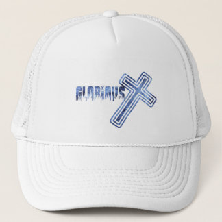 Glorious Bleu Trucker Hat