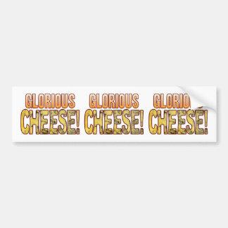 Glorious Blue Cheese Bumper Sticker