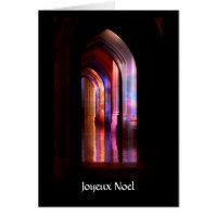 Glorious Cathedral Colors - Christmas Card