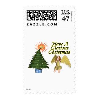 Glorious Christmas Postage Stamp