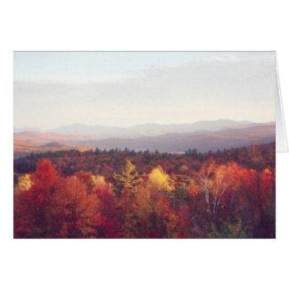 """Glorious fall colors"" Greeting Card"