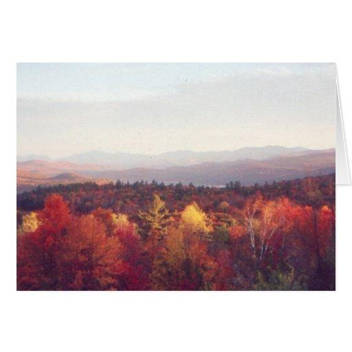 """Glorious fall colors"" Card"