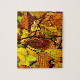 Glorious Fall Leaves Jigsaw Puzzle