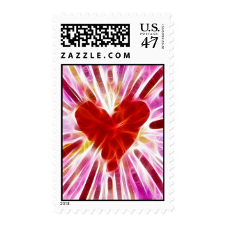 Glorious Heart Postage Stamps