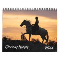 Glorious Horses Calendar