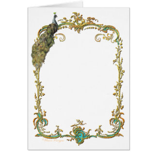 Glorious Peacock Greeting Cards