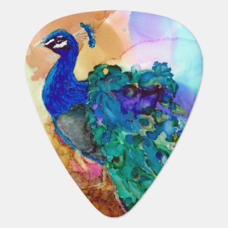 Glorious Peacock Guitar Pick