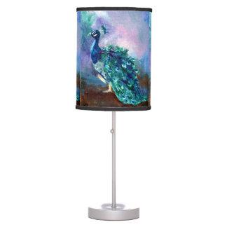Glorious Peacock II Desk Lamp