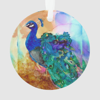 Glorious Peacock Ornament