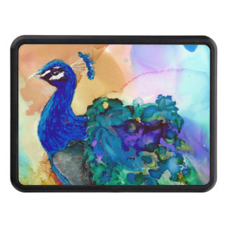 Glorious Peacock Tow Hitch Cover