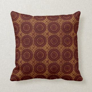 Glorious Red and Gold Pattern Pillows