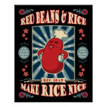 Glorious Red Beans Poster