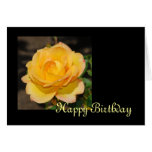 Glorious Rose Birthday Card