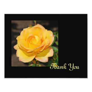 Glorious Rose Thank You Card