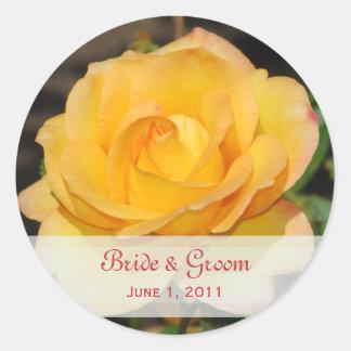 Glorious Rose Wedding Stickers