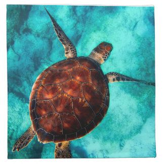 Glorious Sea Turtle Napkin